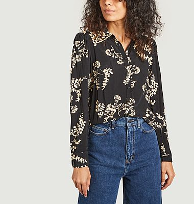 Selym crepe blouse