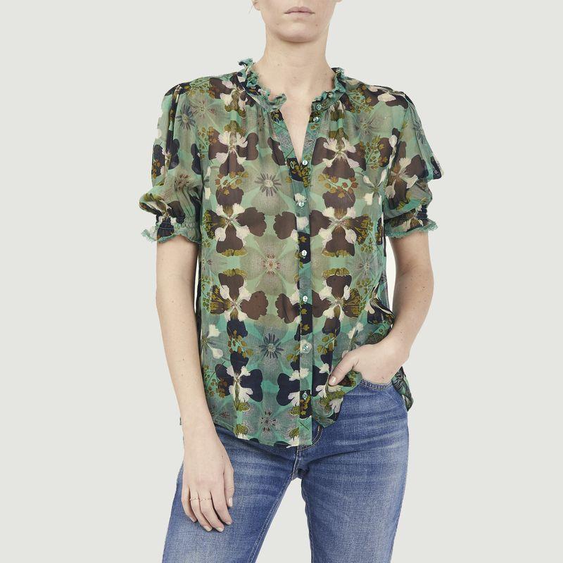 Chemise manches courtes imprimé fleuri Havana - Ba&sh