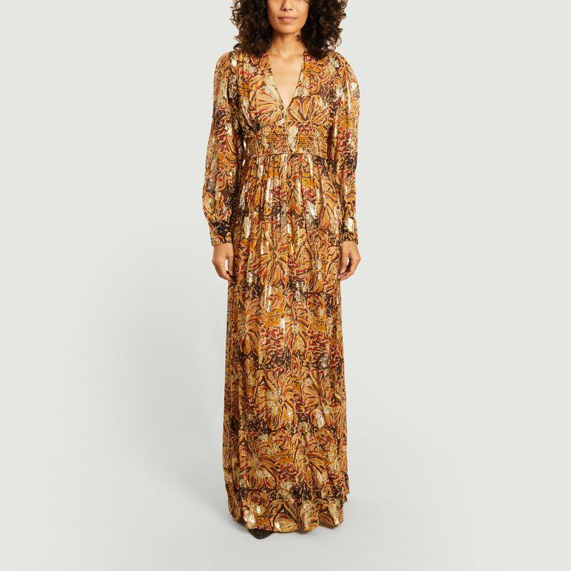 Robe longue manches longues Quartz - Ba&sh