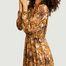 matière Robe longue manches longues Quartz - Ba&sh