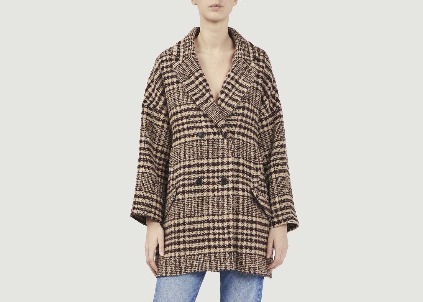 Manteau court à carreaux Arty - Ba&sh