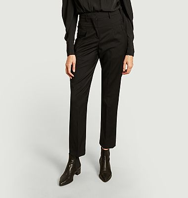 Club wool tailored trousers