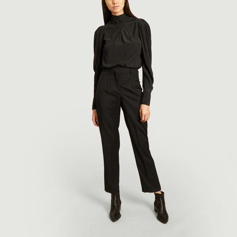 Pantalon de tailleur en laine Club - Ba&sh