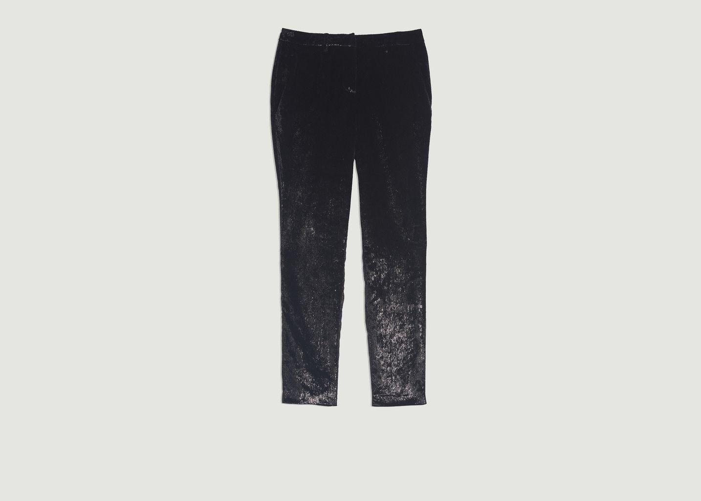 Pantalon droit brillant Kodi - Ba&sh