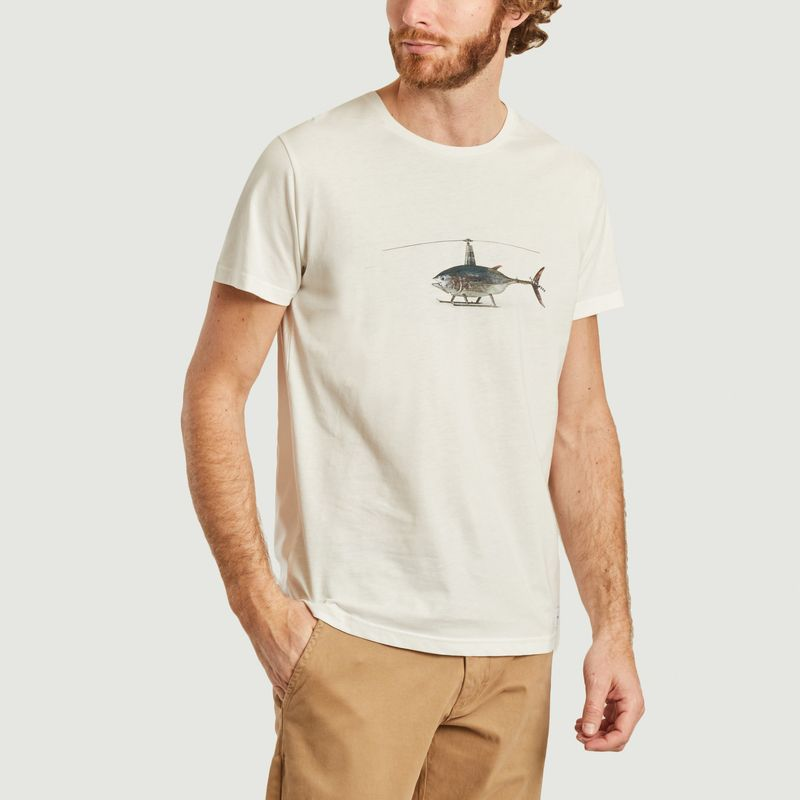 T-shirt Helifish - Bask in the Sun