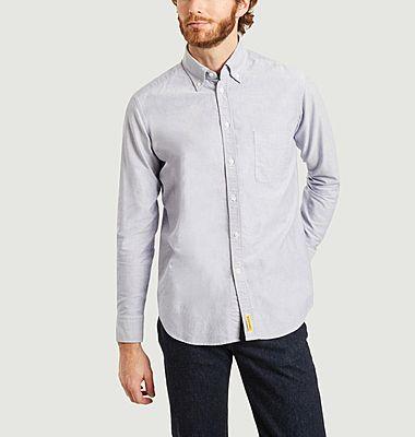 Bradford micro striped Oxford cotton shirt