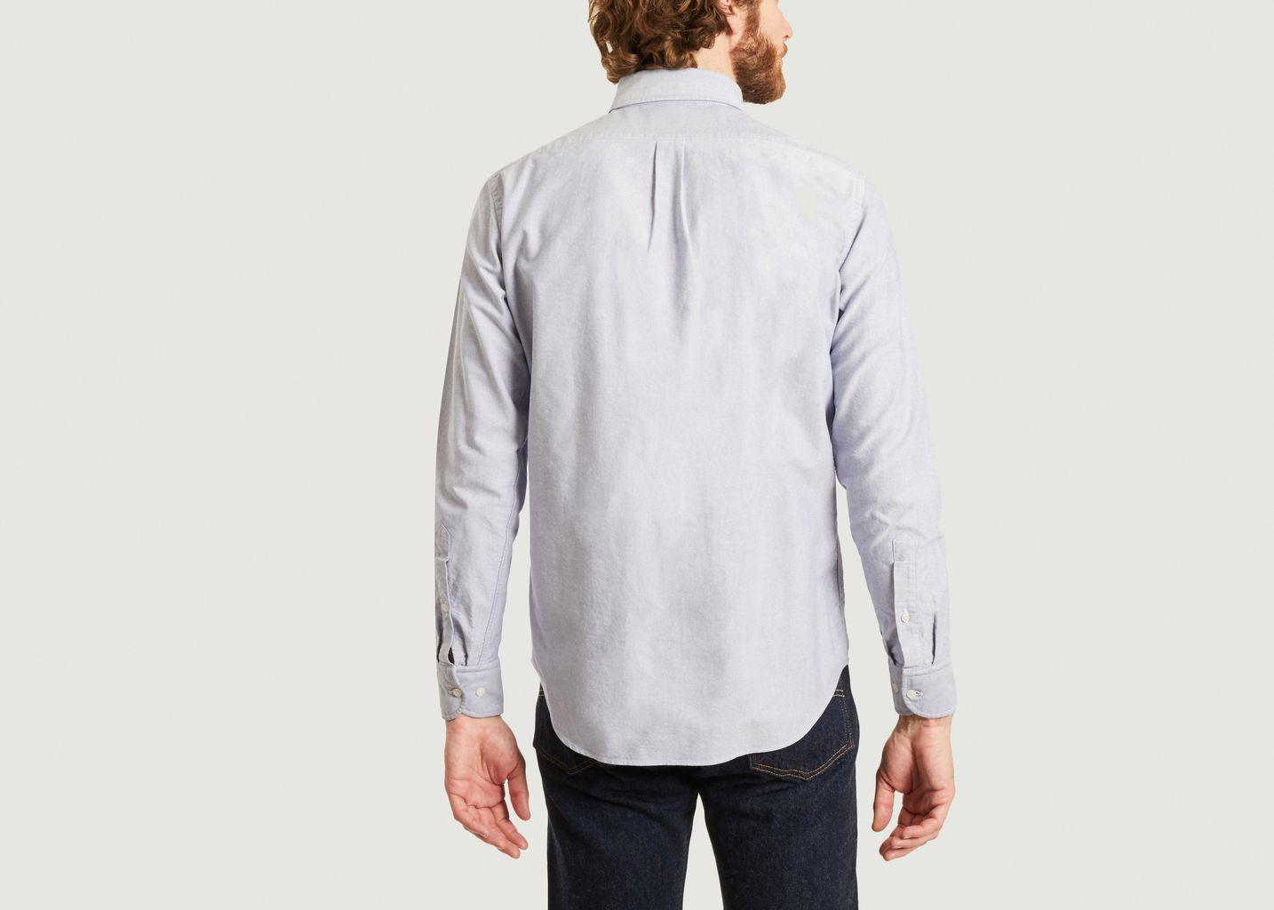 Chemise à micro rayures en coton Oxford Bradford - B.D Baggies