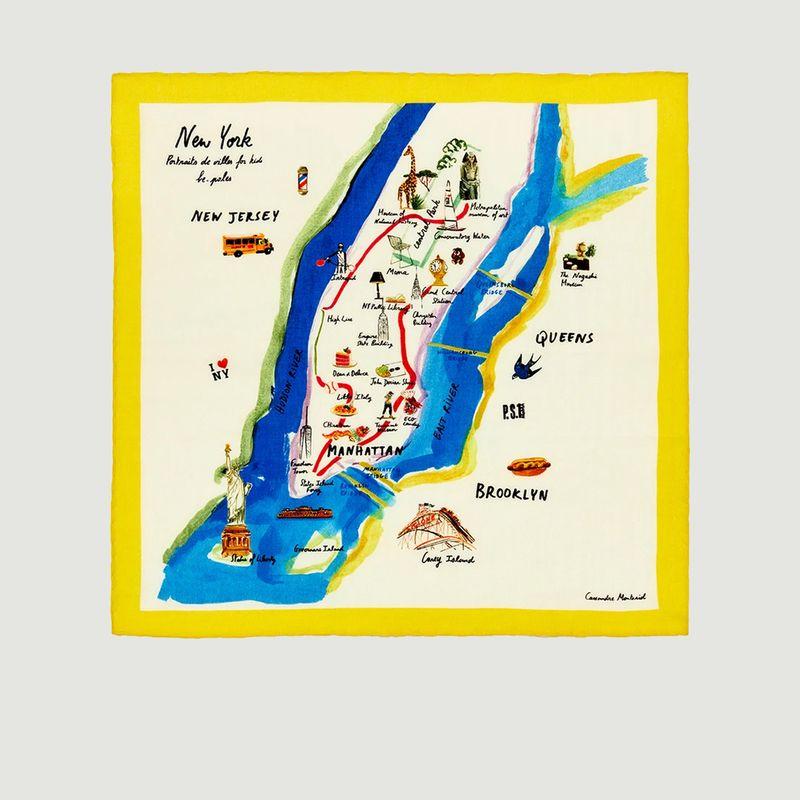 Bandana New York by Cassandre Montoriol - be-poles