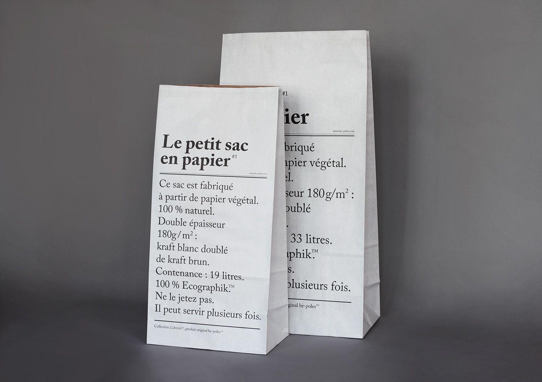 Le Petit Sac en Papier - be-poles