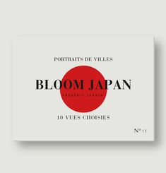 Bloom Japan Photo Postcards