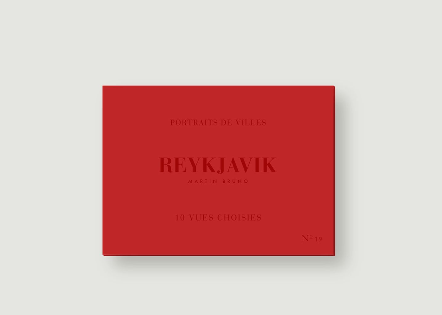 Reykjavik Photo Postcards - be-poles