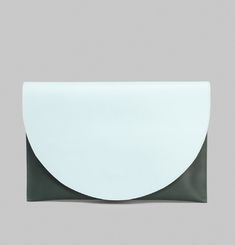Half-Moon Clutch Bag