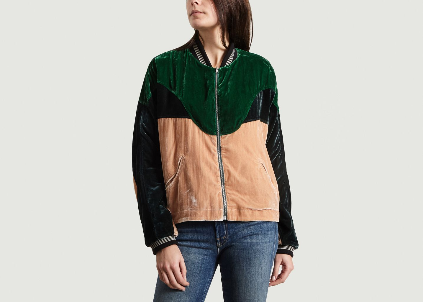 Joe reversible jacket multicolor bellerose l exception