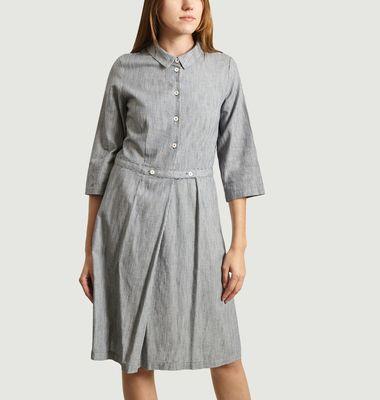 Robe-Chemise Rayée Lateef