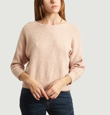 Adine Sweater With Neckline At The Back