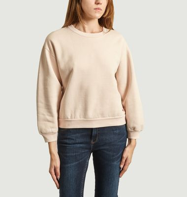 Vafi Sweatshirt With Stripes At The Back