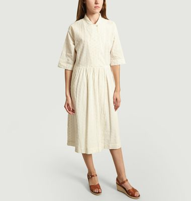 Robe Oversize Avec Broderie Anglaise Poni