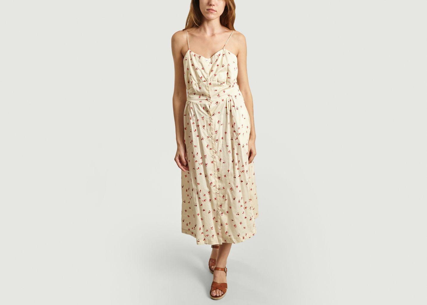 Robe A Bretelles Motif Fleuri Silwa - Bellerose