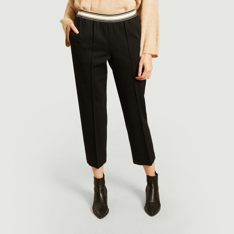 Pantalon droit 7/8e avec taille élastiquée Vlad - Bellerose
