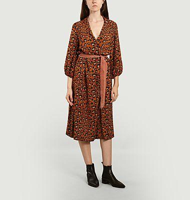 Robe imprimé léopard Armory