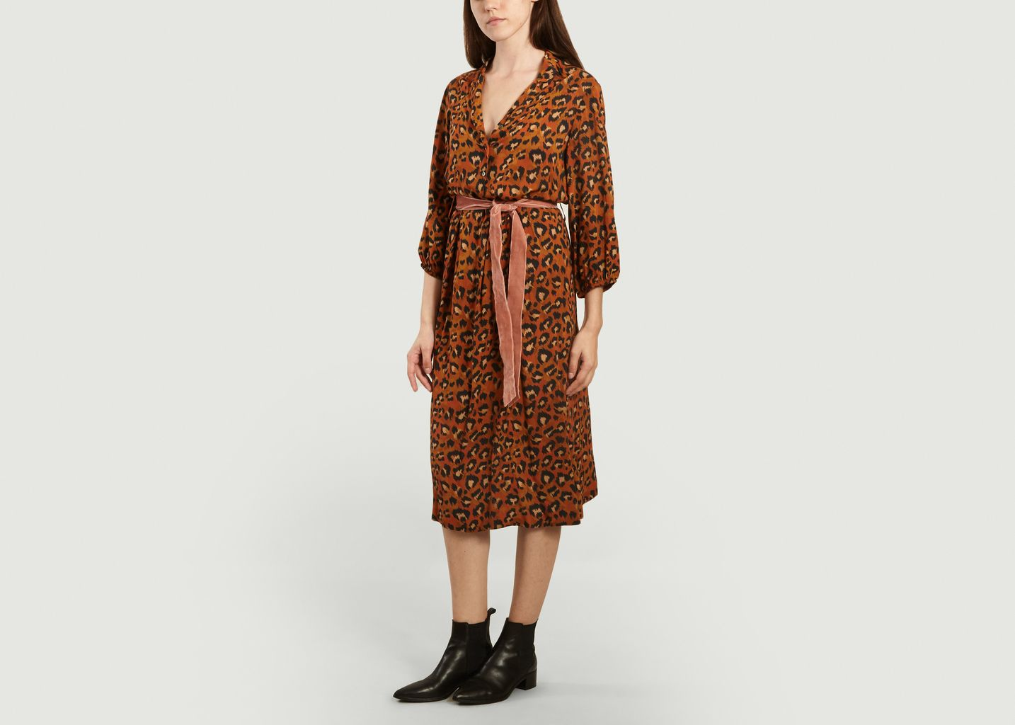 Robe imprimé léopard Armory - Bellerose