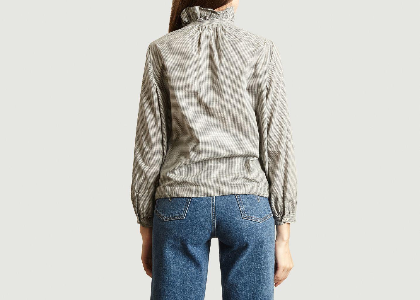Chemise à carreaux Safran - Bellerose
