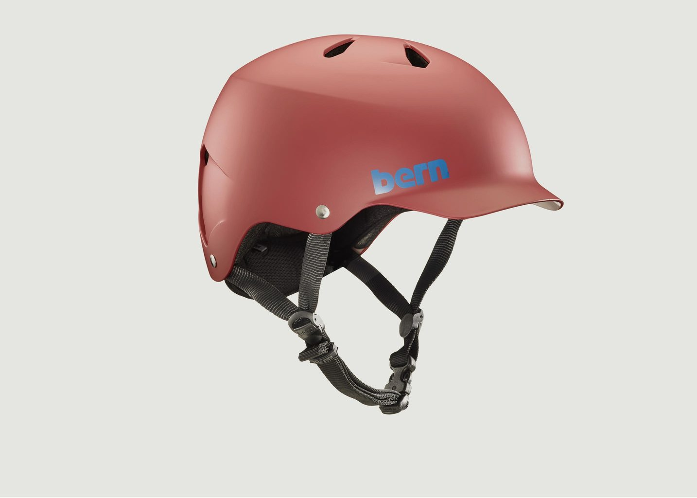Casque de Vélo Watts EPS Matte Red - Bern