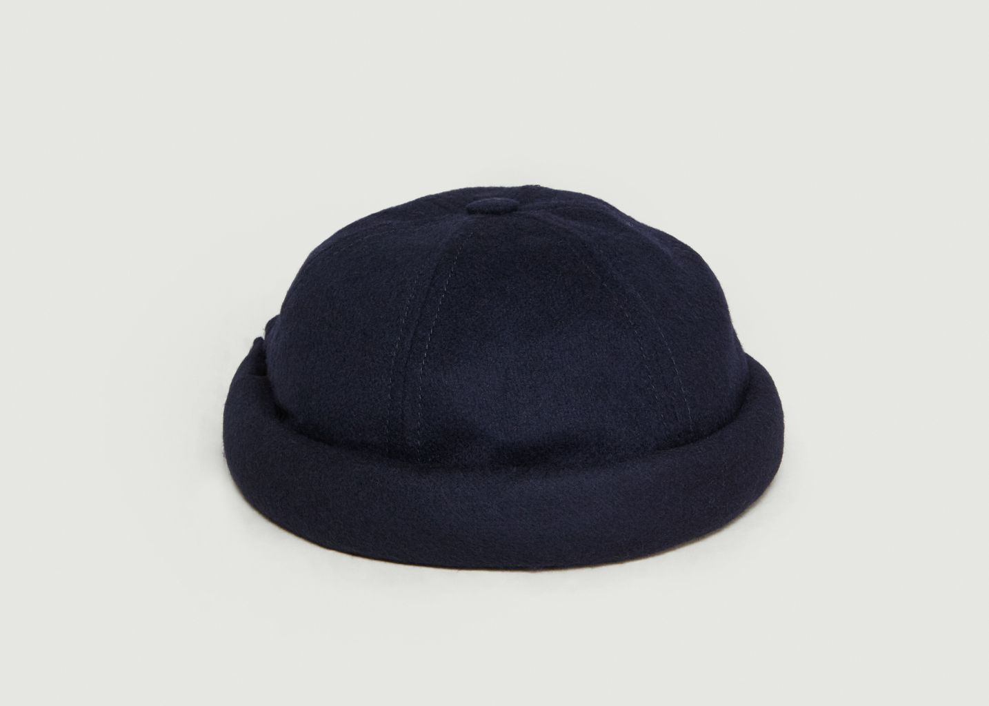 43de26d4fea Miki Twill Hat Navy Blue Béton Ciré