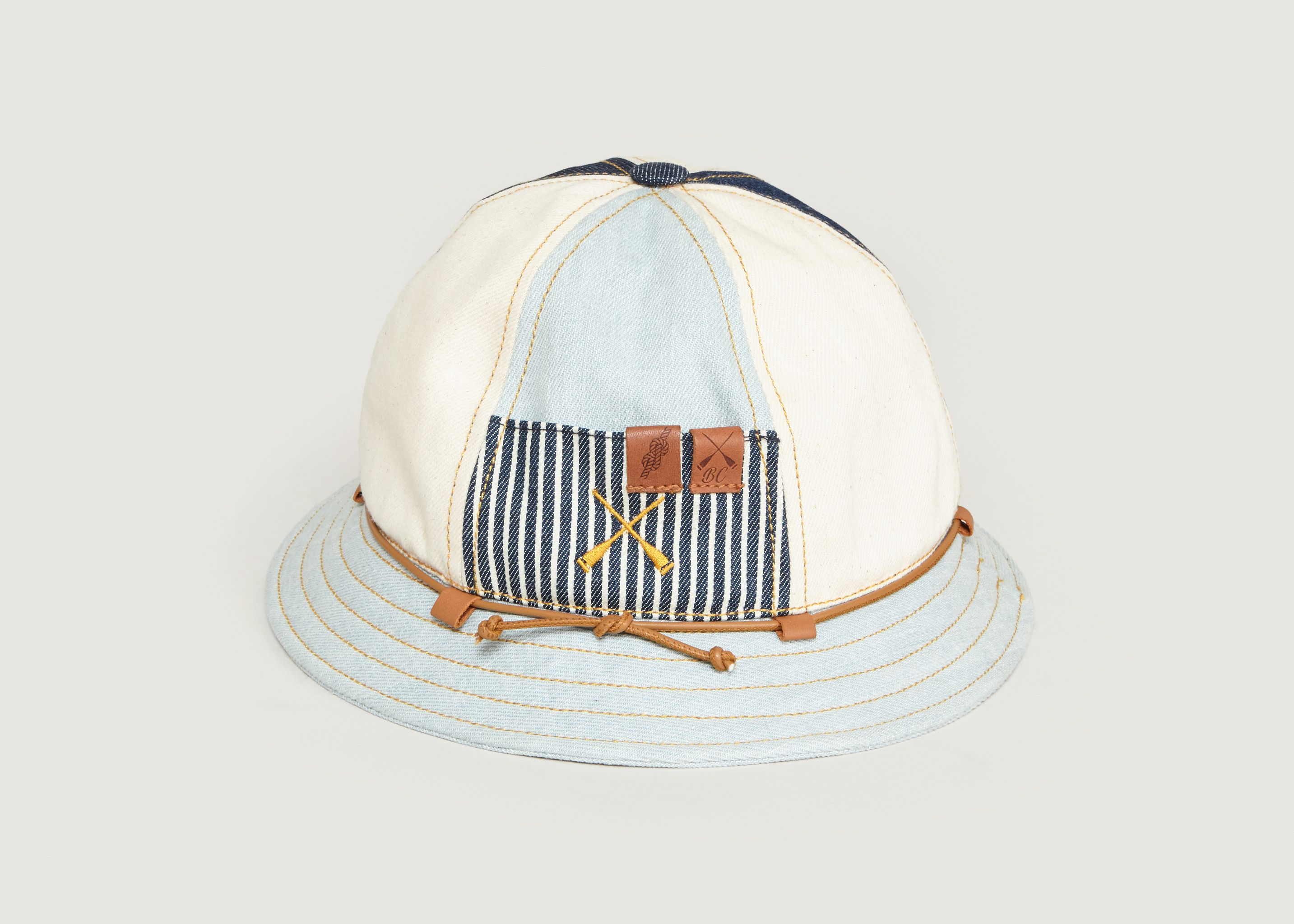 Denim Workwear Bucket Hat Denim Beton Cire L Exception