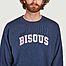 matière Sweatshirt college Bisous - Bisous Skateboards