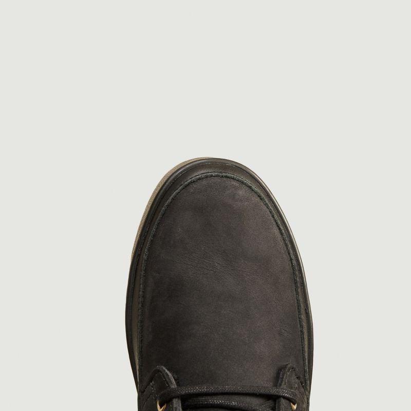 Bottines lacées et zippées en cuir CW96 - Blackstone