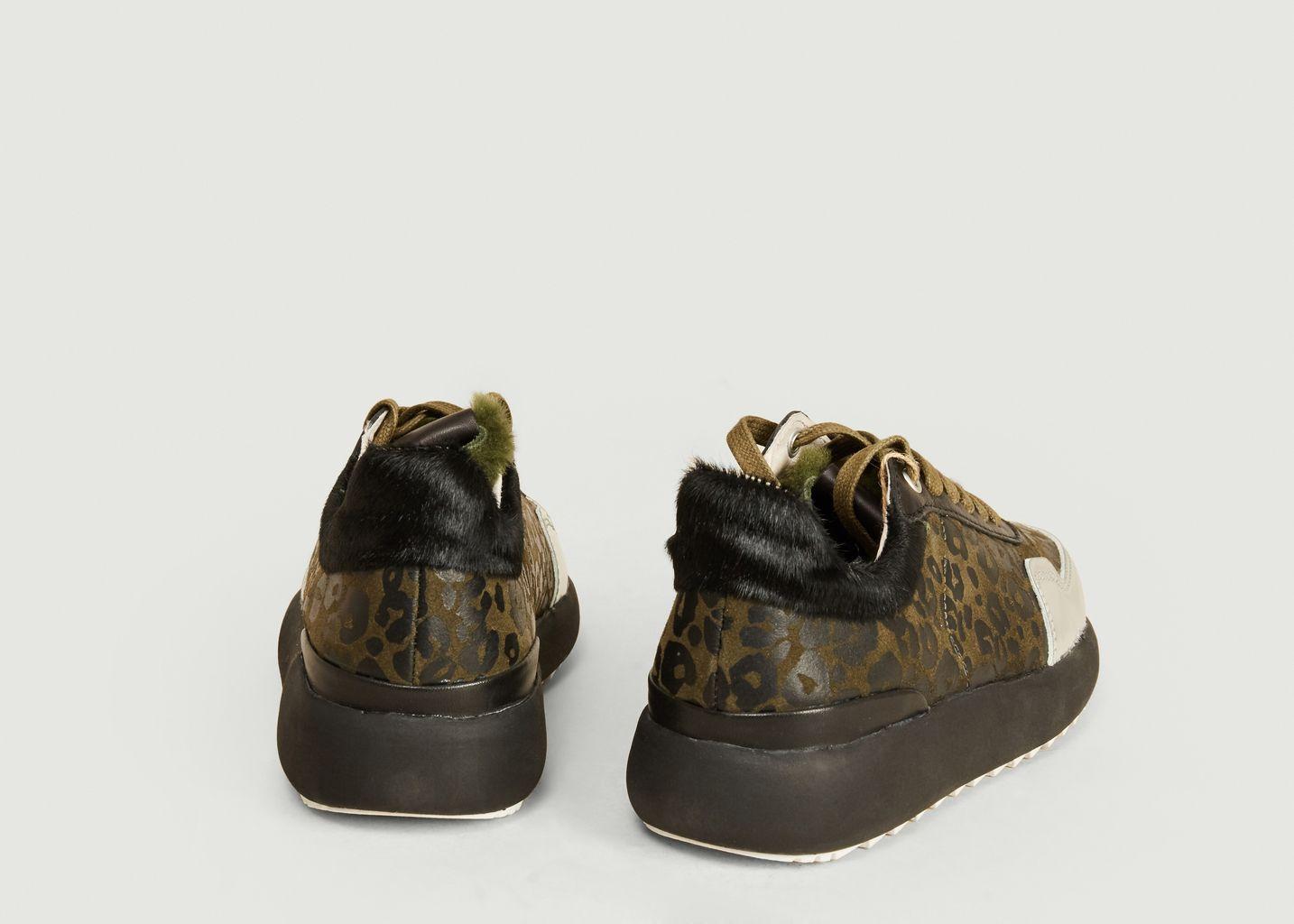 Sneakers de running motif léopard SL91 - Blackstone