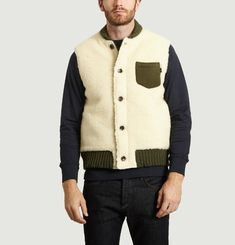 Sleeveless Trapper Jacket