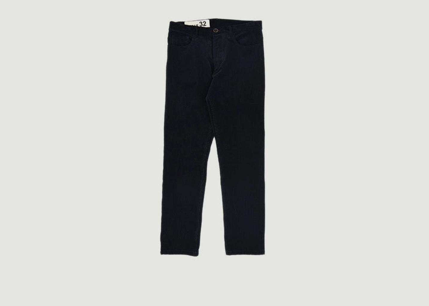 Pantalon Velours Confort - Bleu de Paname