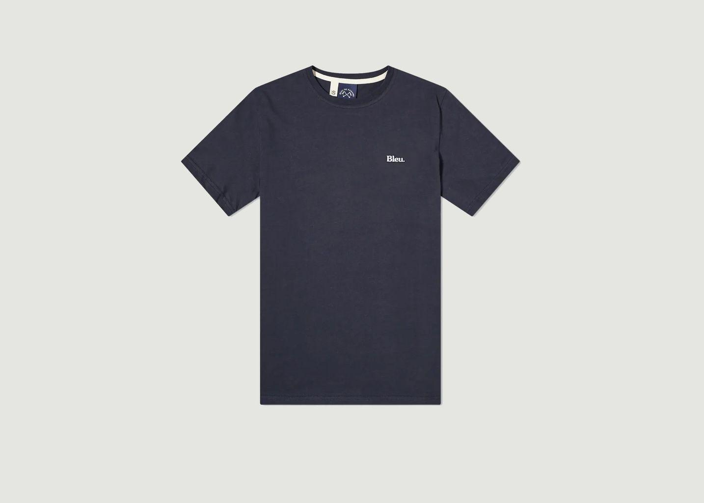 T-shirt brodé - Bleu de Paname