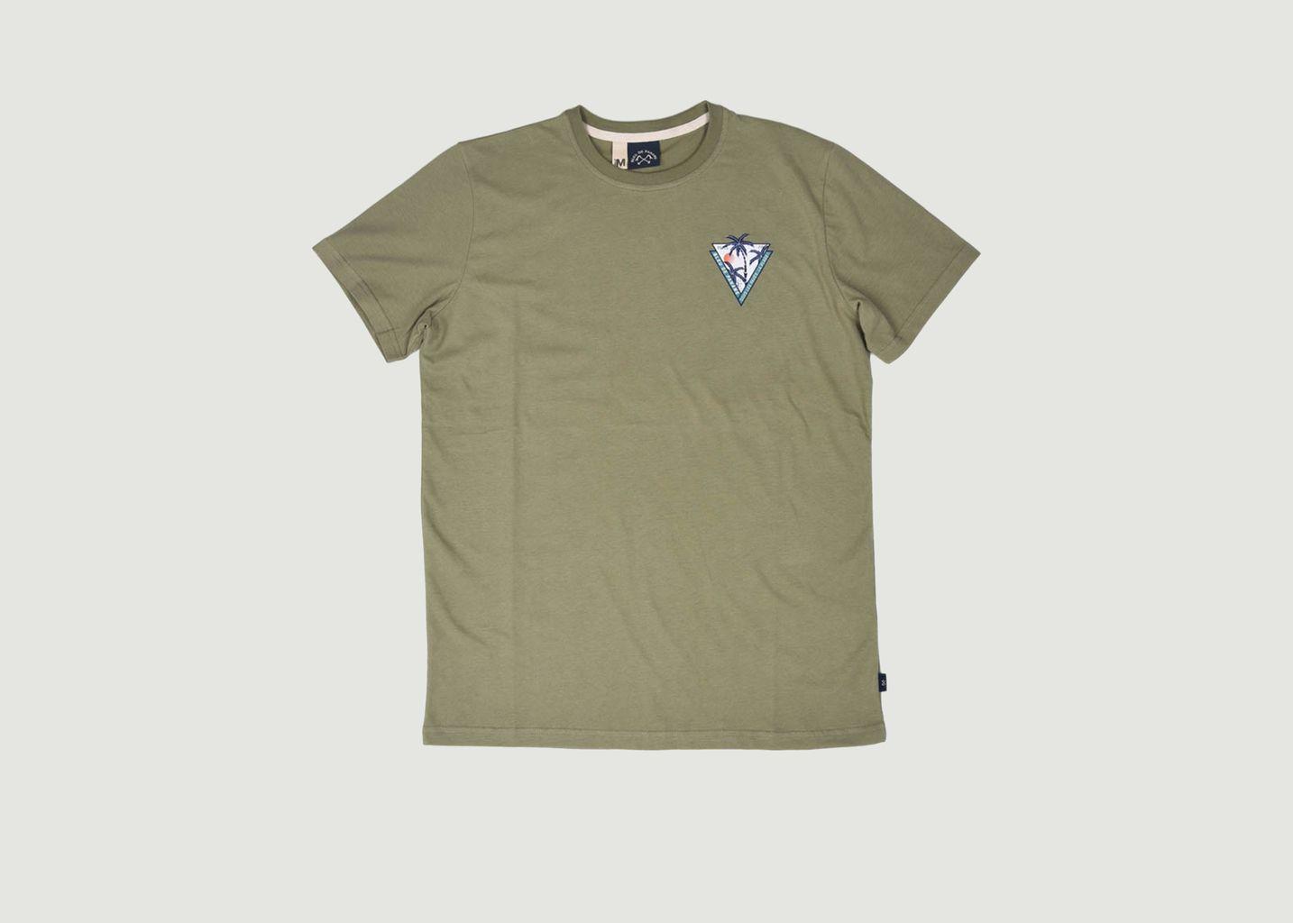 T-shirt Palmier - Bleu de Paname