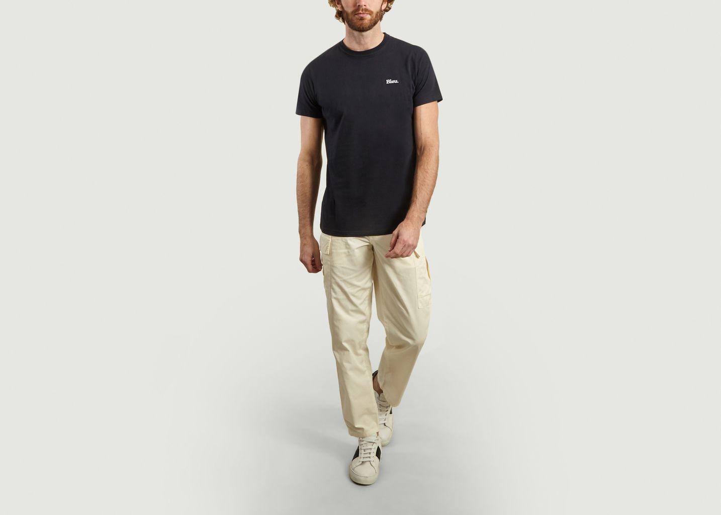 Pantalon cargo Treillis - Bleu de Paname