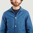 matière Veste de comptoir moleskine - Bleu de Paname