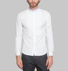 Chemise Subterfuge Plastron Bob Carpenter x L'Exception