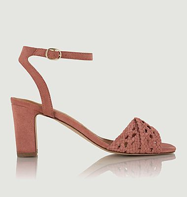 Livia suede leather sandals