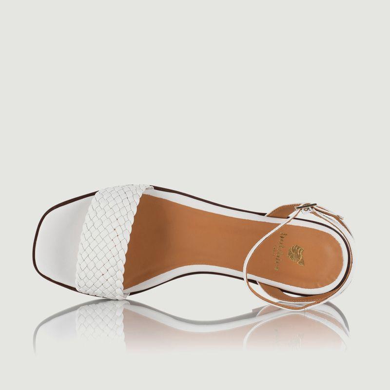 Sandales plates en cuir Suzanne - Bobbies Paris