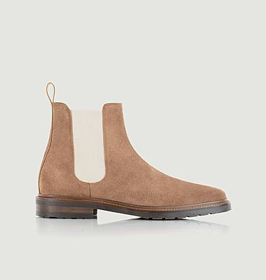 Chelsea boots en cuir suédé Conrad