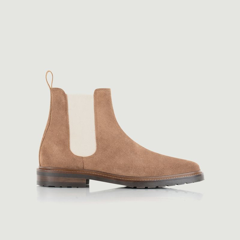 Chelsea boots en cuir suédé Conrad - Bobbies Paris