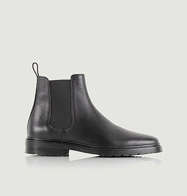 Chelsea boots en cuir grainé Conrad