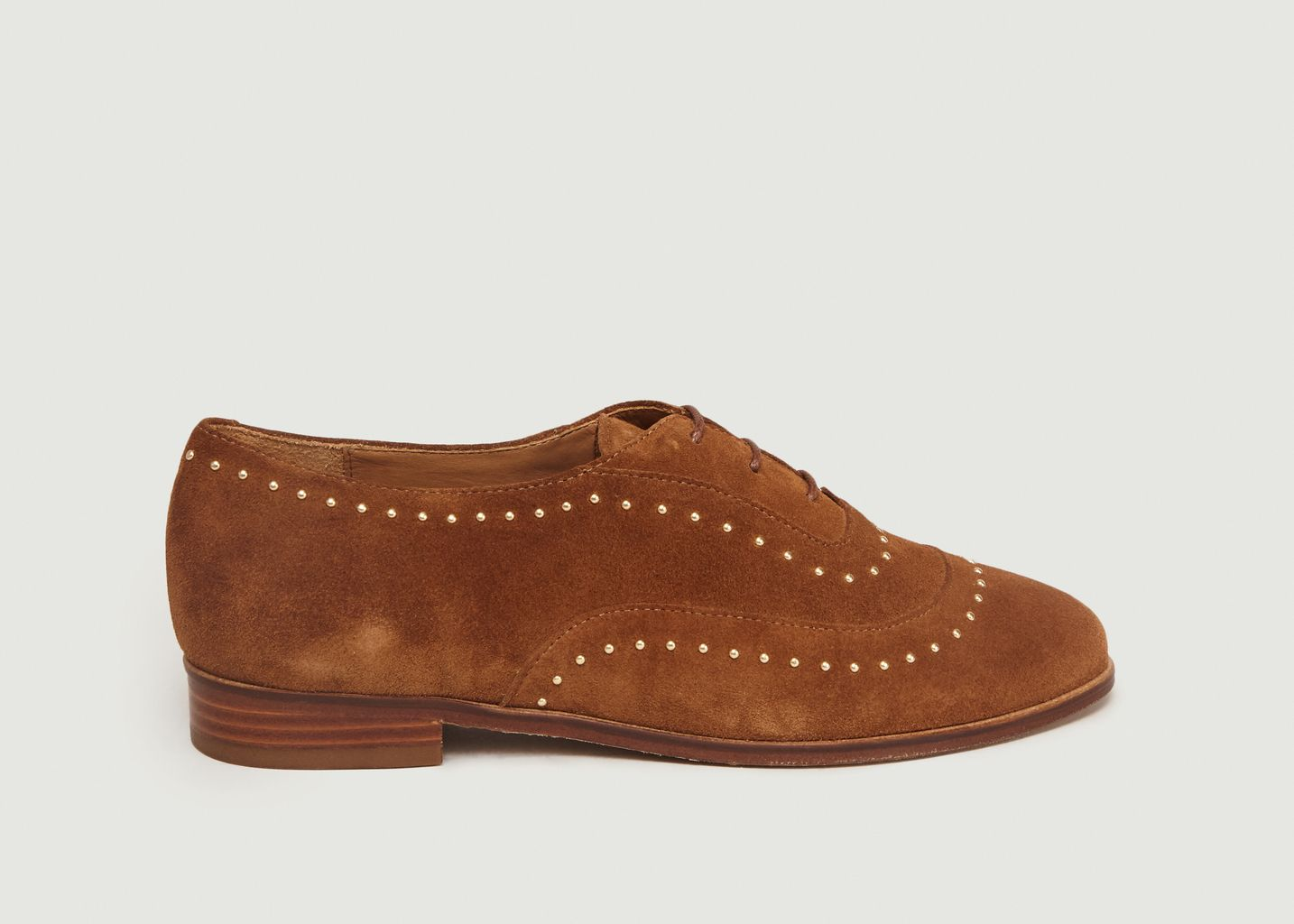 Derbies En Daim A Studs La Pointilleuse - Bobbies
