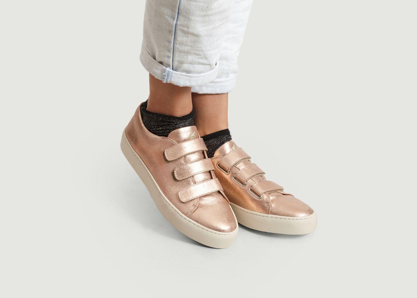 Sneakers Lamées La Turbulente - Bobbies