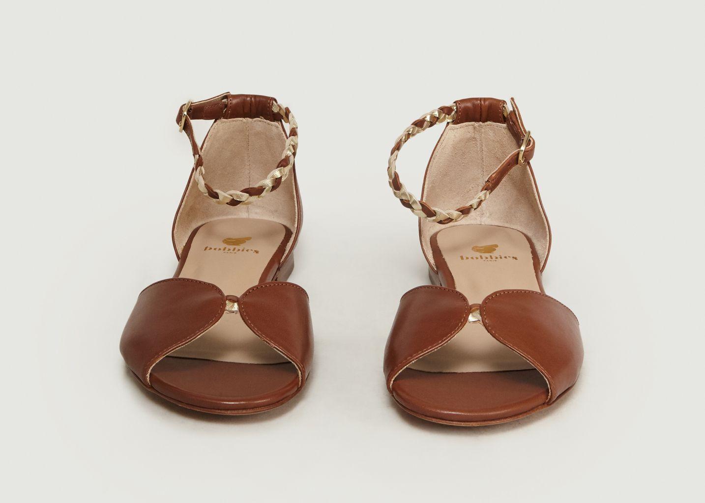 Sandales En Cuir La Douce - Bobbies Paris