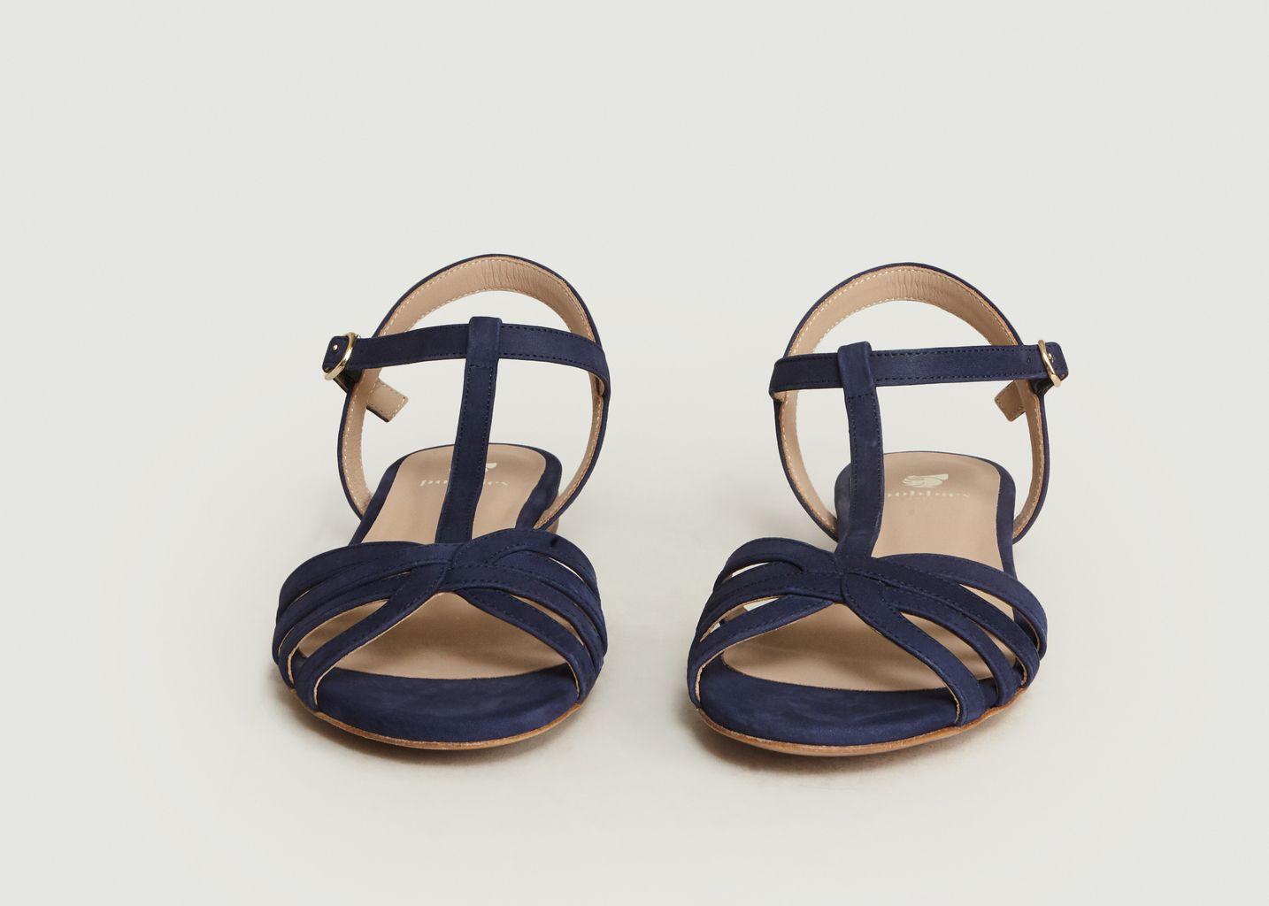 Sandales En Nubuck La Merveille - Bobbies Paris