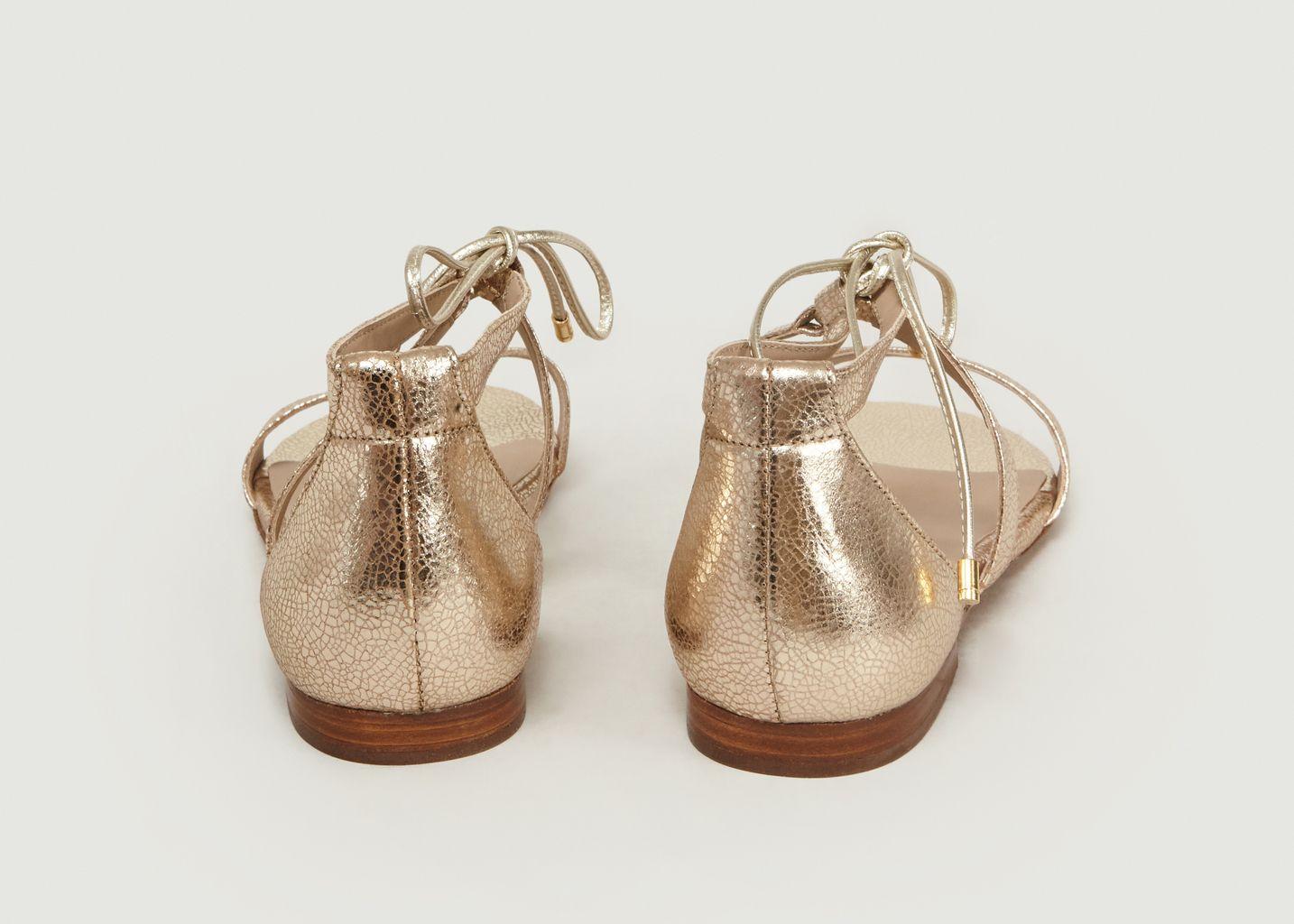 Sandales En Cuir Aphrodite - Bobbies Paris