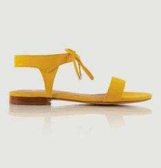 Sandales En Nubuck La Conquise